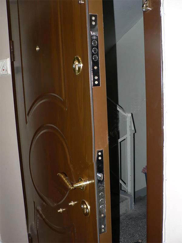 Porte d'entrée blindée